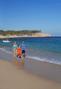 Chileno Beach and Bay. Playa Chileno, 2006. Los Cabos Magazine cover.