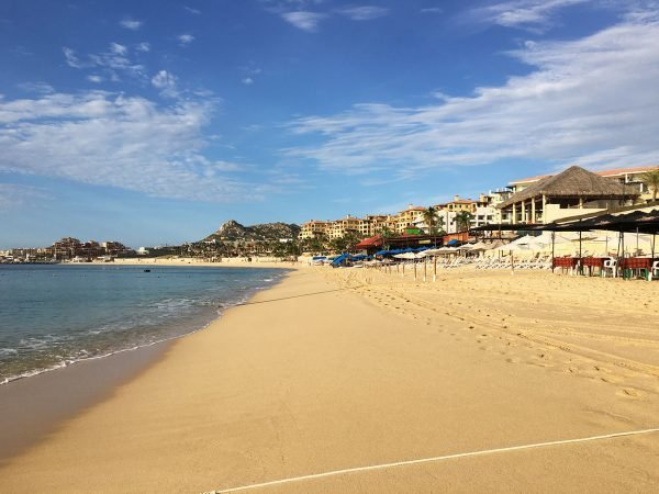 Medano Beach Cabo September 2016