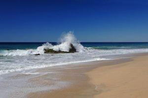 Playa Migriño beach along the Pacific near Cabo San Lucas.