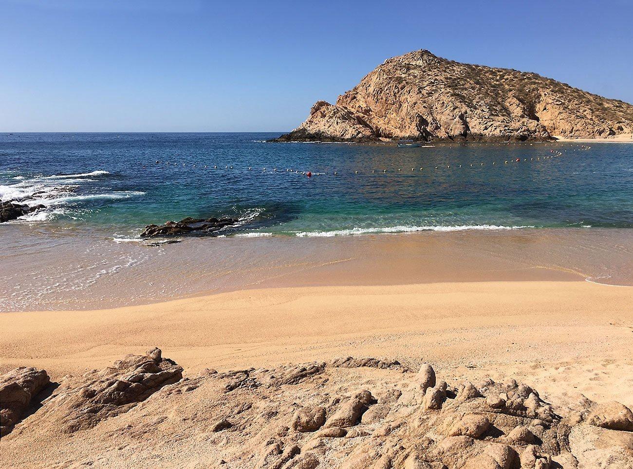 Santa Maria Beach And Bay Playa Y Bahia Along The