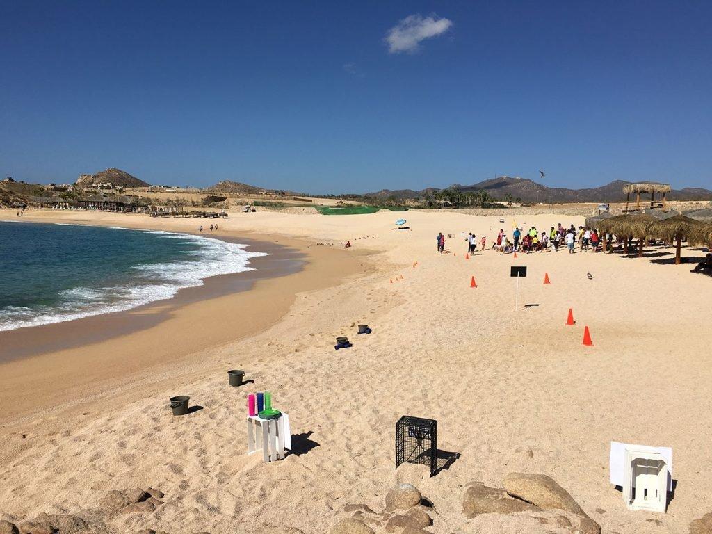 Santa Maria Beach and Bay (Playa Santa Maria) Blue Flag Beach, March 18 2016.