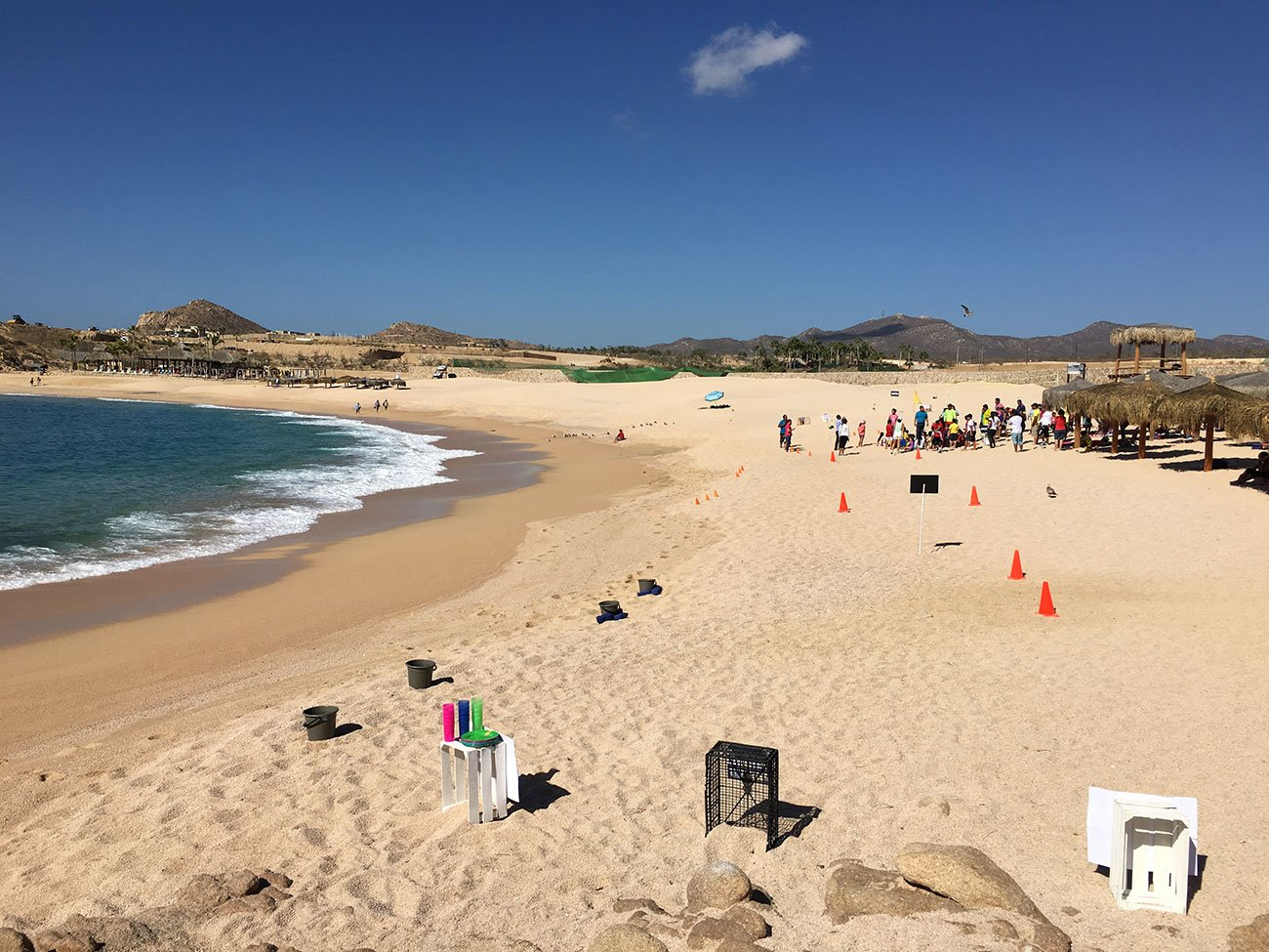 Santa Maria Beach And Bay Playa Blue Flag March 18