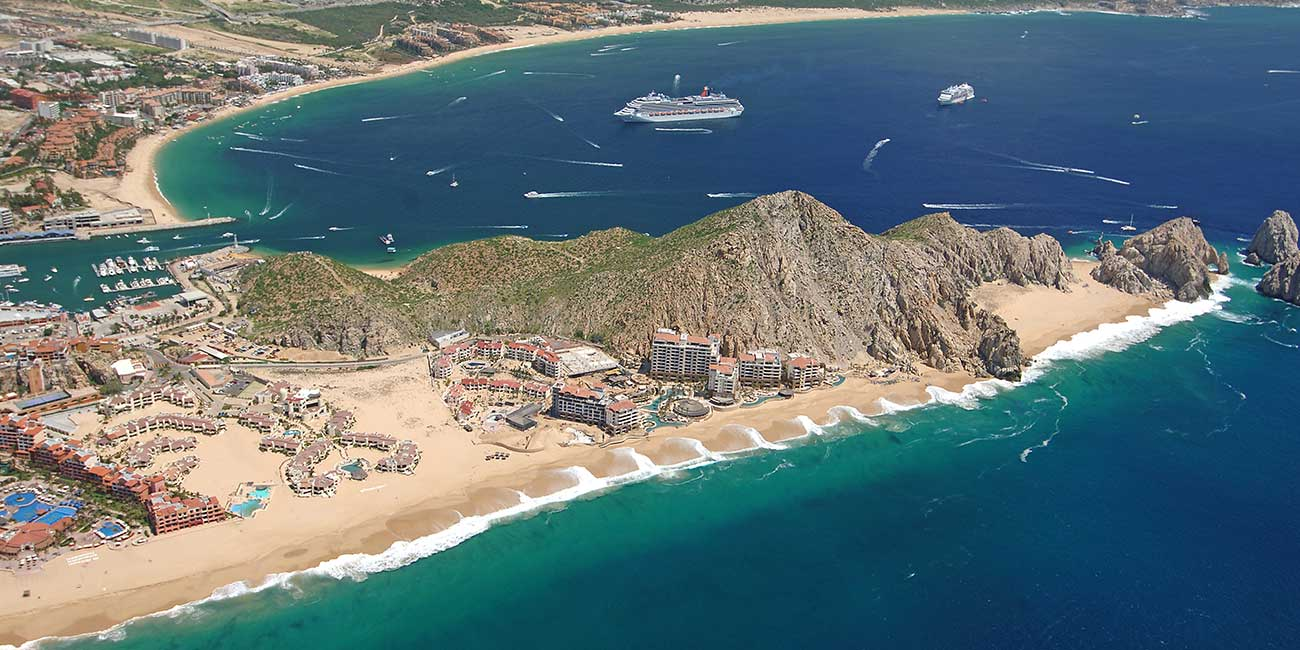 Aerial Image of Playa Solmar The Best Cabo San Lucas Beaches