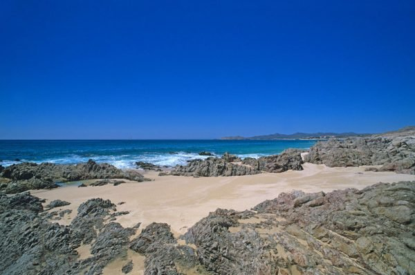 This view is looking west toward Cabo Real and Cabo San Lucas